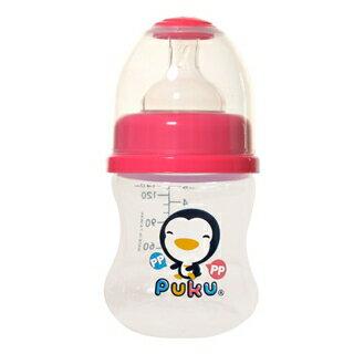 『121婦嬰用品館』PUKU 寬口PP奶瓶 - 粉140ml 0