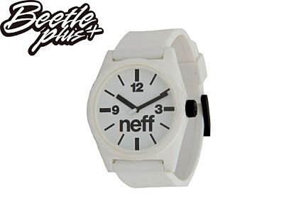 BEETLE PLUS NEFF DAILY WATCH BLACK WHITE 白黑 基本款 指針 手錶 圓錶 NF-109 - 限時優惠好康折扣