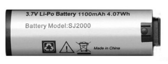 原廠SJCAM SJ2000 電池原廠電池行車紀錄器 1100毫安