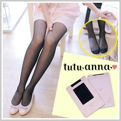 現貨 日牌Tutuanna美腿必備透膚絲襪【AP755】☆雙兒網☆ 0