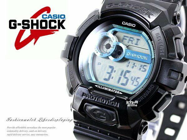【完全計時】手錶館│多層次金屬系GLS-8900-1DR 大錶徑50mm/禮物/BK/gk/湖水藍casio現貨 XL