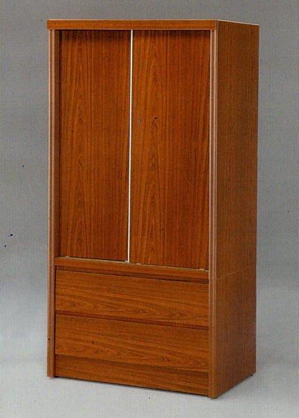 ~尚品 ~~特別 ~101~07 柚木色 3x6 推門衣櫥 衣櫃 收納櫃 櫥櫃^~有四色