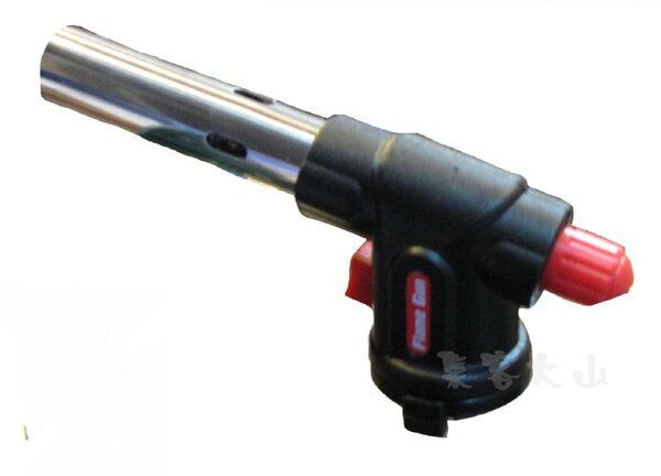 【露營趣】中和 RV-AC8807 黑金鋼 電子點火 卡式瓦斯噴火槍 噴燈 噴槍 點火槍 露營烤肉必備