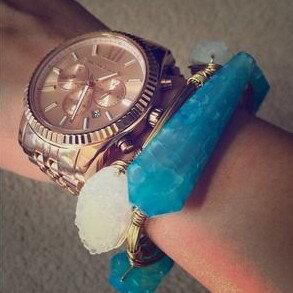 美國Outlet正品代購 MichaelKors MK  男女中性玫瑰金鋼帶錶 手錶 MK5569 7