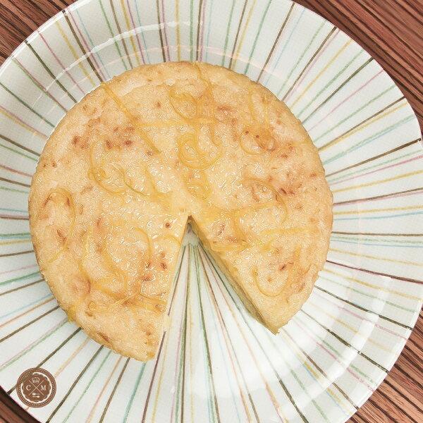 【火星小廚*17的仲夏檸檬蛋糕】4-8人分享X六吋歡樂分享版X美國進口新鮮香吉士黃檸檬X丹麥進口Aral 鮮奶油X新鮮雞蛋