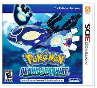 Pokemon:精靈寶可夢到3DS 神奇寶貝 始源藍寶石 英文美版 Pocket Monster Alpha Sapphire