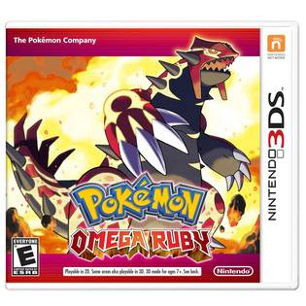 N3DS 神奇寶貝 終極紅寶石 英文美版 Pocket Monster Omega Ruby Pokemon