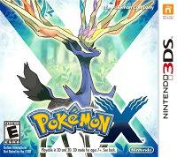 Pokemon:精靈寶可夢到3DS 神奇寶貝 X 英日多國語言美版(限美規機使用) Pocket Monsters X Pokemon X