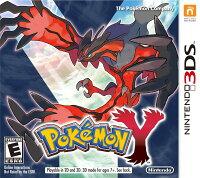 Pokemon:精靈寶可夢到3DS 神奇寶貝 Y 英日多國語言美版(限美規機) Pocket Monsters Y Pokemon