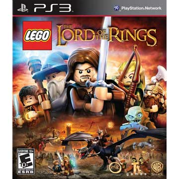 PS3 樂高魔戒 英文美版 LEGO Lord of the Rings