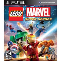 漫威英雄Marvel 周邊商品推薦PS3 樂高 驚奇超級英雄 英文美版 (附30組人物道具密碼表) LEGO MARVEL