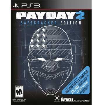 PS3 劫薪日 2 保險箱大盜版 英文美版 Payday 2 SAFECRACKER EDITION