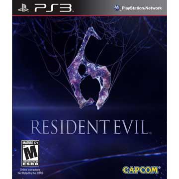 PS3 惡靈古堡 6 英文美版(RESIDENT EVIL 6 BIOHAZARD 6)