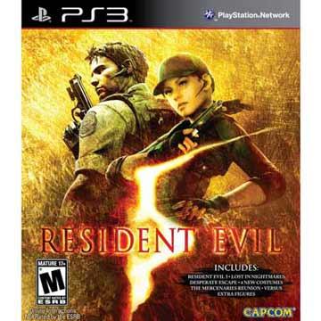 PS3 惡靈古堡5 黃金版 英日語美版 RESIDENT EVIL 5