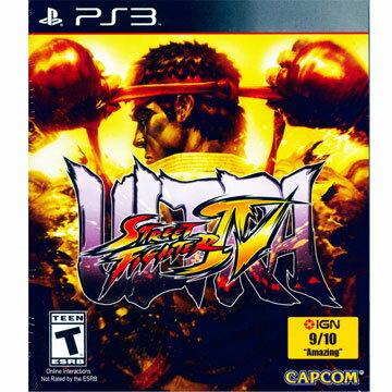 (現貨全新)PS3 終極快打旋風 4 英日文美版 Ultra Street Fighter IV