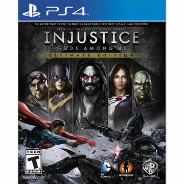 PS4 超級英雄:武力對決 終極版 英文美版 INJUSTICE GODS AMONG US