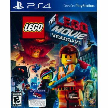 PS4 樂高玩電影 英文美版 LEGO THE MOVIE VIDEOGAME