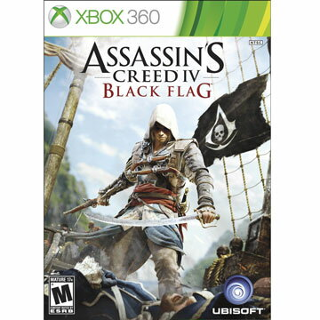 (現貨全新)XBOX360 刺客教條 4:黑旗 英文美版 Assassin's Creed 4: Black Flag