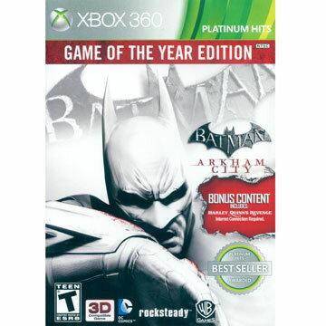 XBOX360 蝙蝠俠 阿卡漢城市年度合輯版 英日文美版 BATMAN ARKHAM CITY