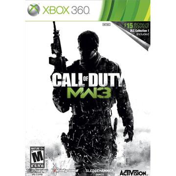 XBOX360 決勝時刻:現代戰爭3 加強版 英文美版(附DLC) Call of Duty