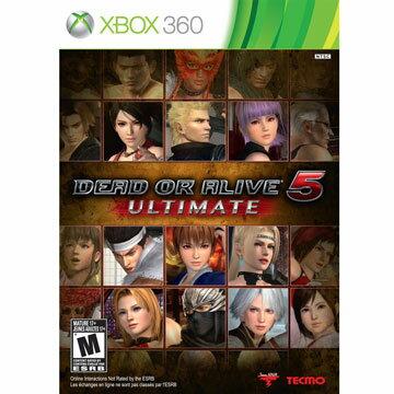 XBOX360 生死格鬥5 終極版 中英日多國語言美版 DEAD OR ALIVE 5 ULTIMATE