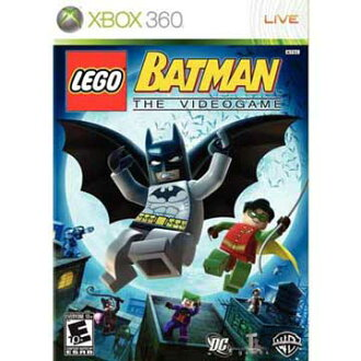 XBOX360 樂高蝙蝠俠 英文美版 LEGO BATMAN THE VIDEOGAME