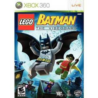 XBOX360 樂高蝙蝠俠 英文美版 LEGO BATMAN THE VIDEOGAME支援XBOX ONE主機