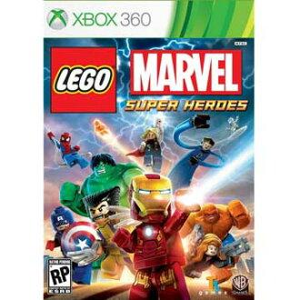 XBOX360 樂高驚奇超級英雄 英文美版 LEGO MARVEL (30組人物道具密碼表)