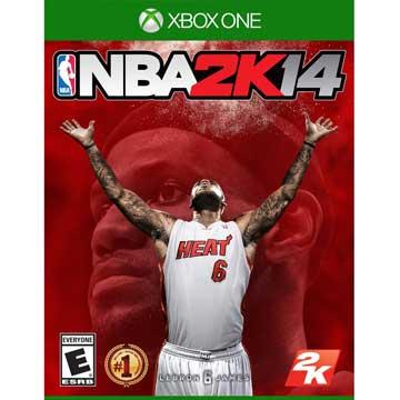 XBOX ONE 勁爆美國職籃 2K14 中英文美版 NBA 2K14