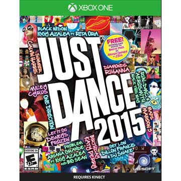 XBOX ONE 舞力全開 2015 英文美版 XBOX ONE JUST DANCE 2015