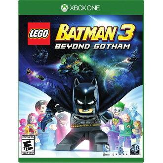 XBOX ONE 樂高蝙蝠俠 3:飛越高譚市 英文美版 (附贈道具密碼表) LEGO Batman 3