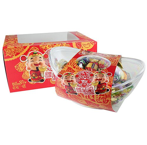 有樂町進口食品 免運優惠  歐洲假期招財進寶巧克力禮盒 附提袋 8008743021001 0