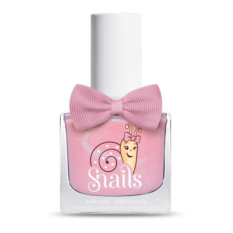【安琪兒】法國【Snails希臘神話 】兒童水性無毒指甲油-糖果亮粉 0