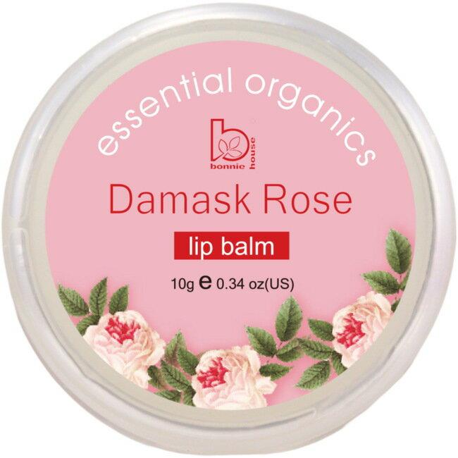極緻純淨大馬士革玫瑰護唇膏10g - 限時優惠好康折扣