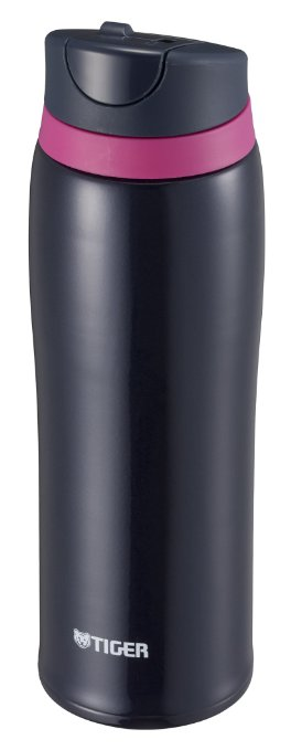 【日本直輸入-預購】TIGER虎牌保溫杯-彈蓋式480CC 不鏽鋼真空~ 日本限定款 - 黑色 0