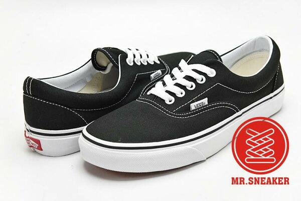 ☆Mr.Sneaker☆ VANS Era 經典 基本/經典/休閒/滑板鞋 百搭 黑白