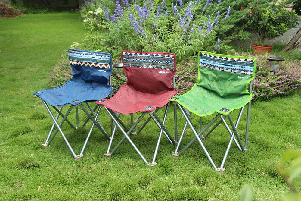 野樂小鋼蛋鋁合金休閒椅,雙層牛津布加強5cm織帶 ARC-881SC 野樂 Camping Ace 3