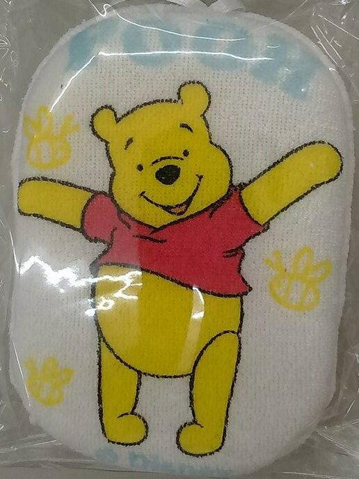 『121婦嬰用品館』小熊維尼沐浴棉 0