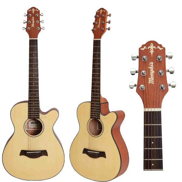 中和胡桃鉗樂器 Memphis 雲杉面單 旅行吉他(36吋/附原廠厚袋).
