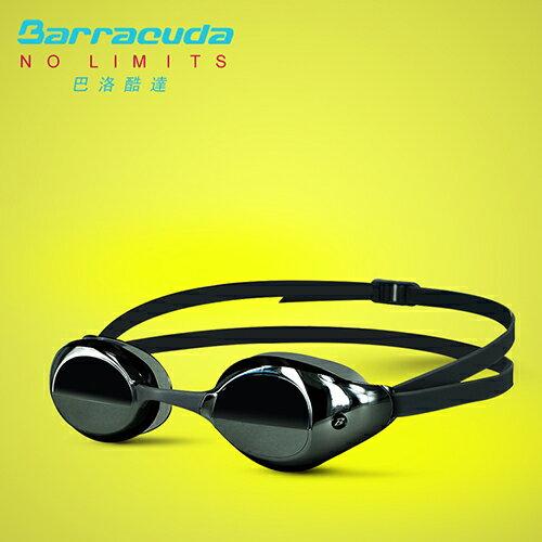 美國巴洛酷達Barracuda成人競技抗UV防霧泳鏡-BOLT#90210 0