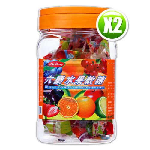 六鵬維他命水果軟糖(100gm±3%)x2