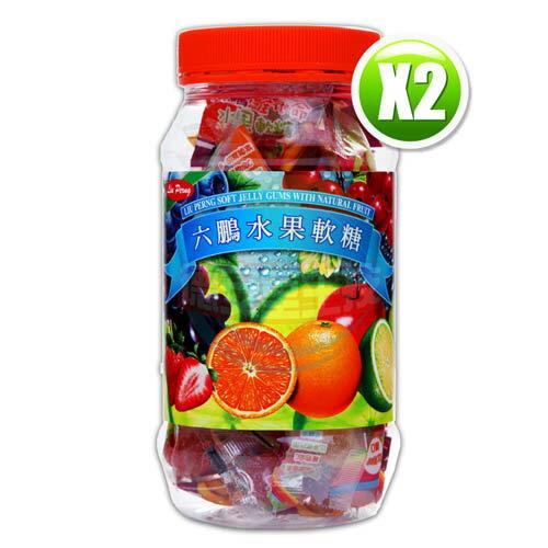 六鵬維他命水果軟糖(80gm±3%)x2