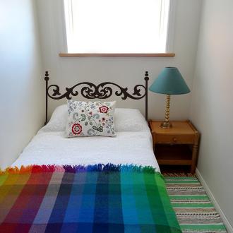Attlee設計師-創意無痕壁貼.床頭板/床架 壁貼/單人床HDWS-01