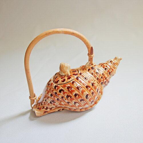 Attlee海洋貝殼造型創意飲品下午茶陶瓷茶具茶壺