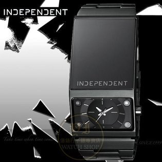 INDEPENDENT關鍵未來搖滾個性腕錶-IP黑/26mm公司貨BG2-141-51/星辰/原創/魔幻力量