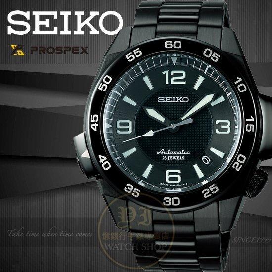SEIKO日本精工Prospex 4R35冒險王運動機械腕錶-IP黑4R35-00A0D/SBDY003J公司貨