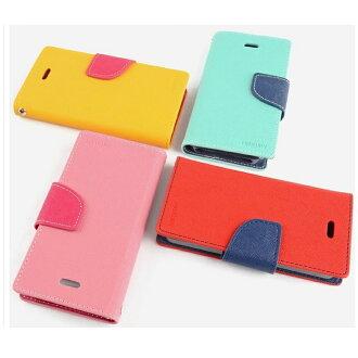 三星Note Edge N9150保護套 韓國Mercury Goospery 撞色手機皮套 Samsung N9150雙色皮套 支架插卡皮套 保護殼【清倉】