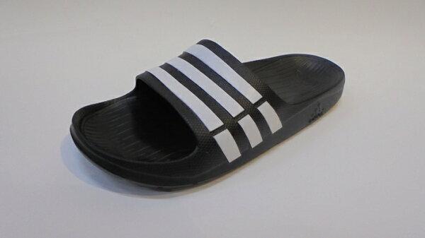 [陽光樂活]Adidas 愛迪達 DURAMO SLIDE 運動拖鞋 DG15890 男/女 舒適 運動 休閒 新款