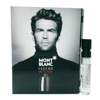 《香水樂園》Mont blanc Legend Intense 萬寶龍 傳奇極致 男性淡香水 針管香水1.2ml