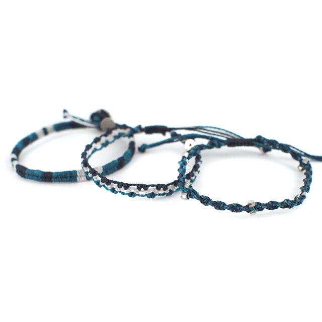 【現貨商品】【wakami】水底的冒險編織手環三條(WA0475  0627880000) 1